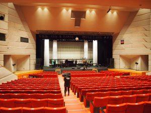 リハーサル前のステージ