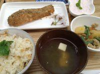 290404⑳鮭の南部焼き&筍ご飯