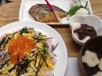 290407⑳鰆照焼き&桜寿司