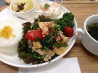 290513⑮豚肉と春野菜のピリ炒め