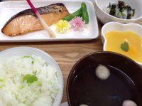 290512⑳そら豆ご飯&鮭西京焼き
