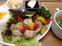 290510⑳ズッキーニ&鳥肉炒め