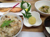 290608⑳鮭の西京焼き&かやくご飯