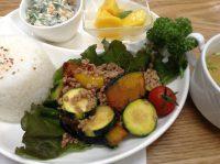 290715⑮夏野菜と挽肉の炒めもの