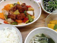 290803⑳黒酢酢豚