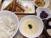 290704⑳麦とろ飯&鯵生姜焼き